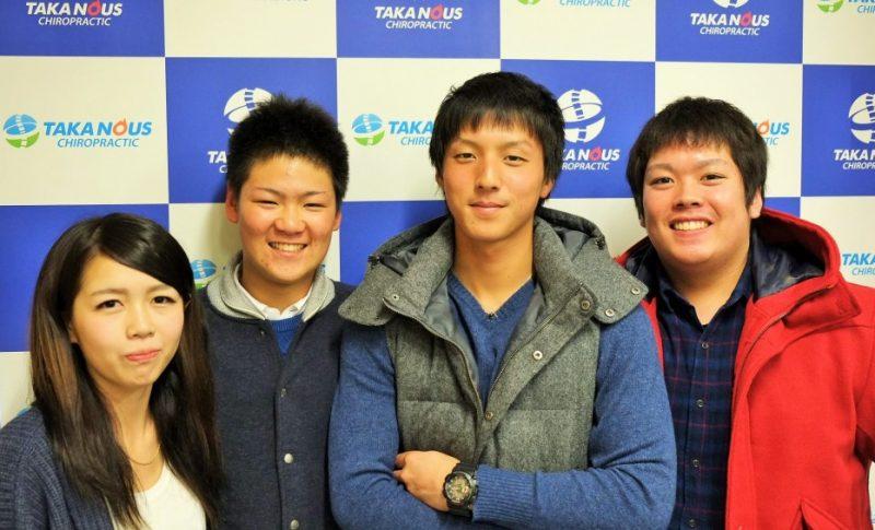 仲良しの大学生グループ