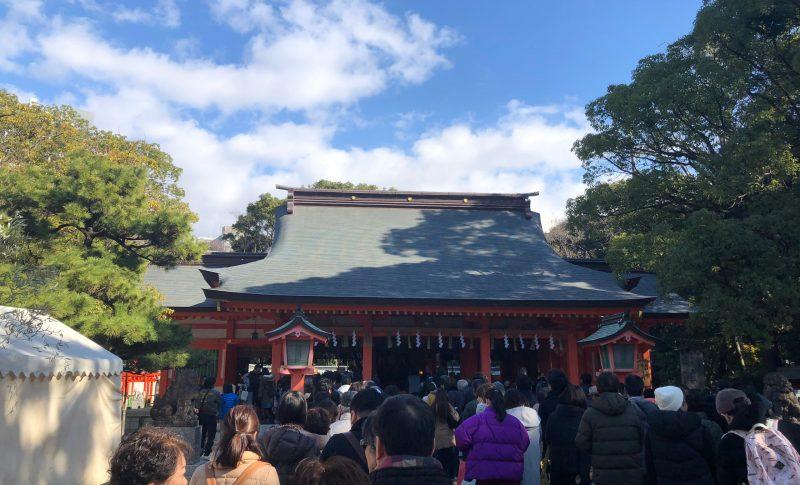 福岡市の住吉神社